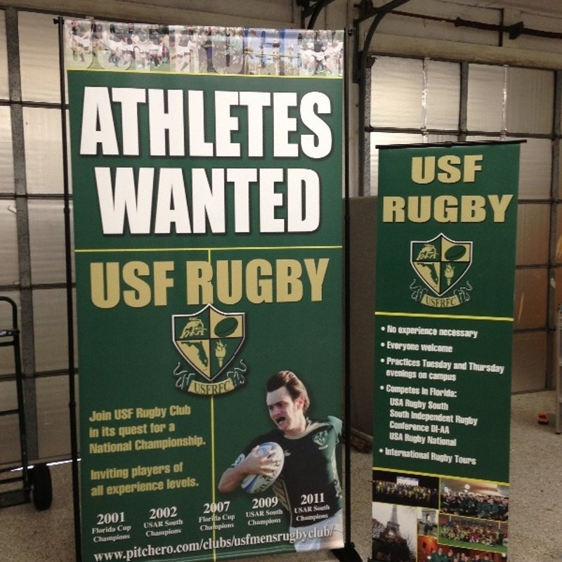 JOIN USF RUGBY CLUB