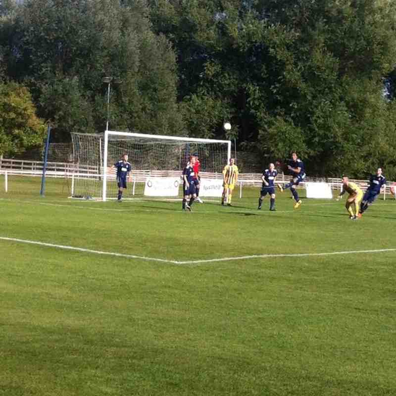Hadleigh United FA Cup tie