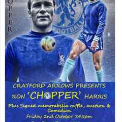 """An evening With the Chelsea Legend - Ron """"Chopper """" Harris"""