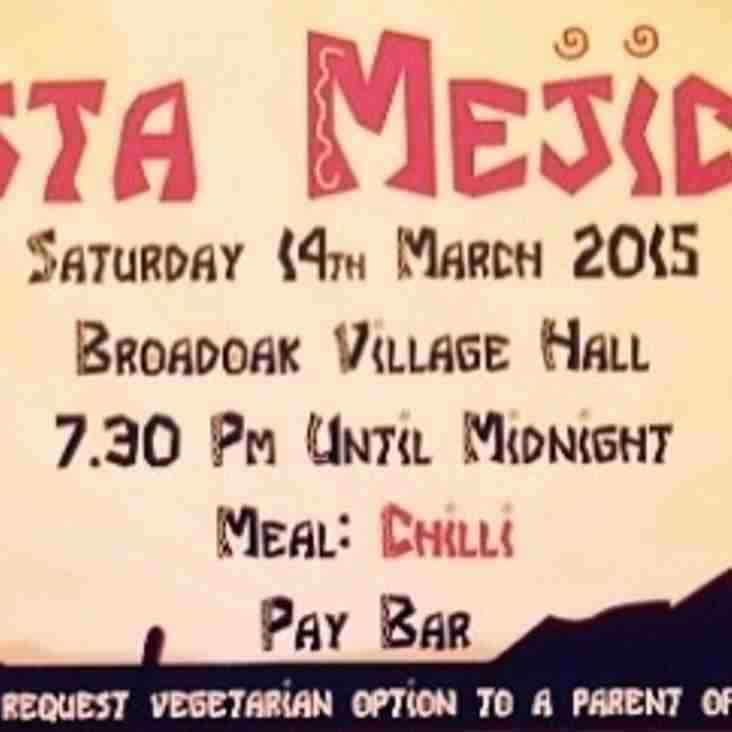 Fiesta funding for tour to Bath RFC .....