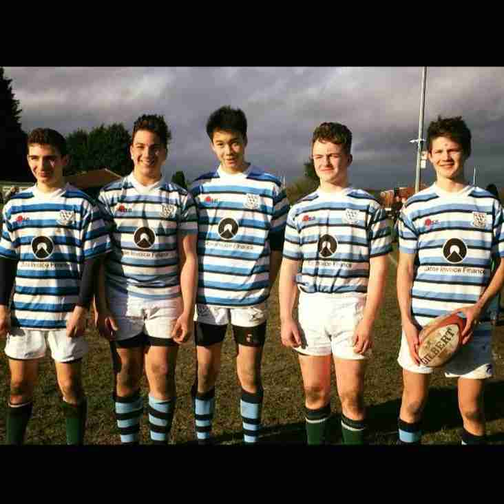 ...and then there were 5 ... Sussex U15s