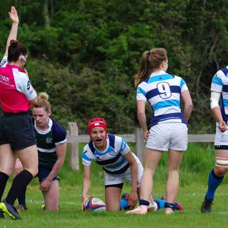 Now County Finalists at Twickenham:   Sussex success for Heathfield Ladies.......