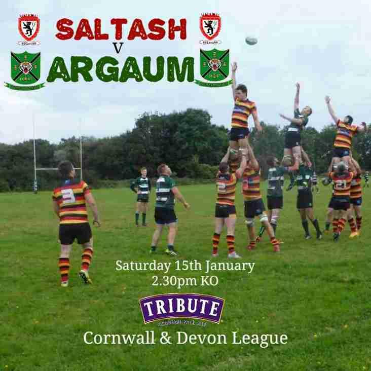 Match preview: Saltash v Argaum