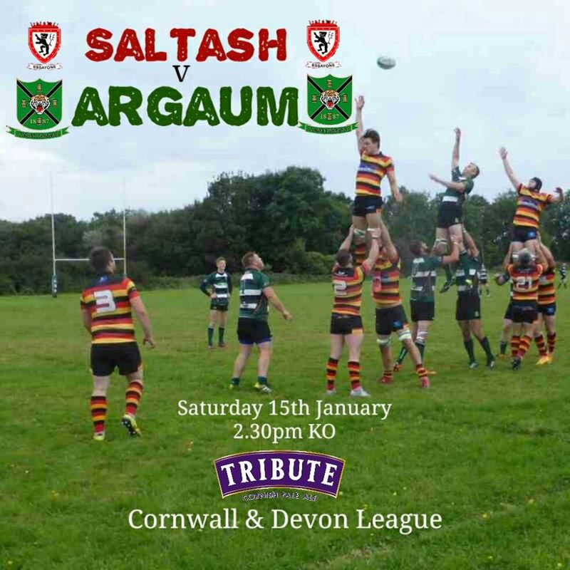 Match preview - Saltash v Argaum