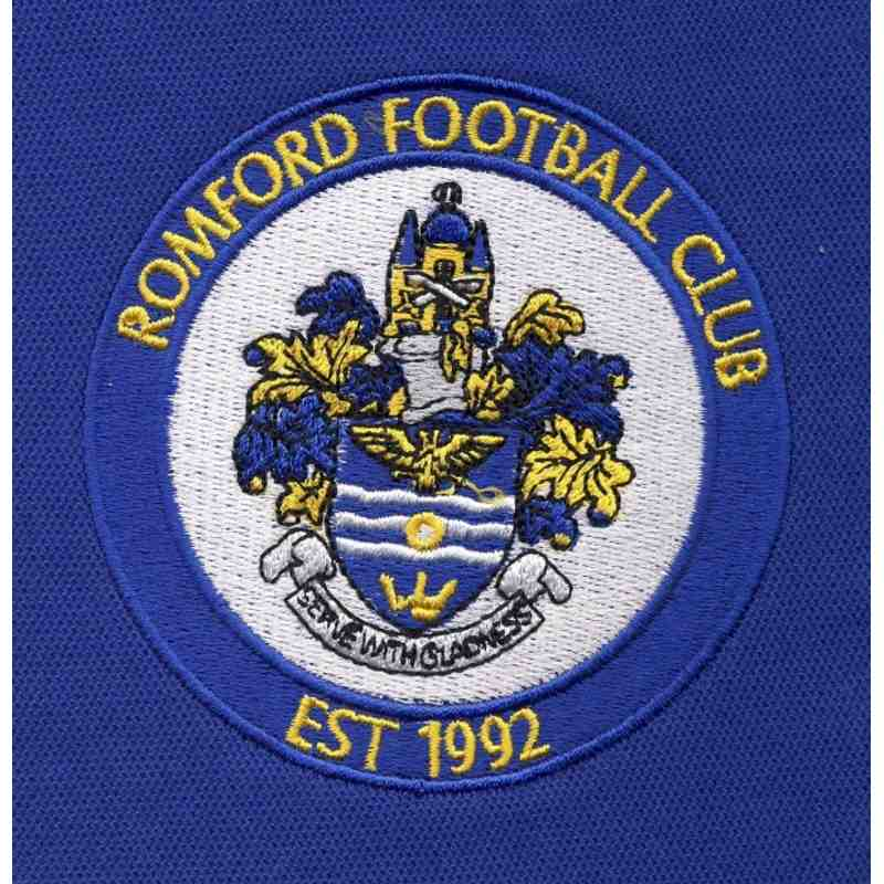 Romford Polo shirt with new badge