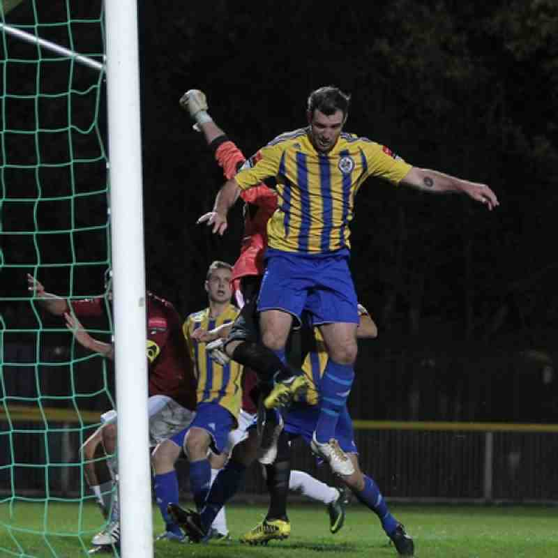 Romford v Potters Bar 3/11/12