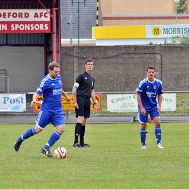 Bideford V Dorchester Town 28th July (2-2) friendly