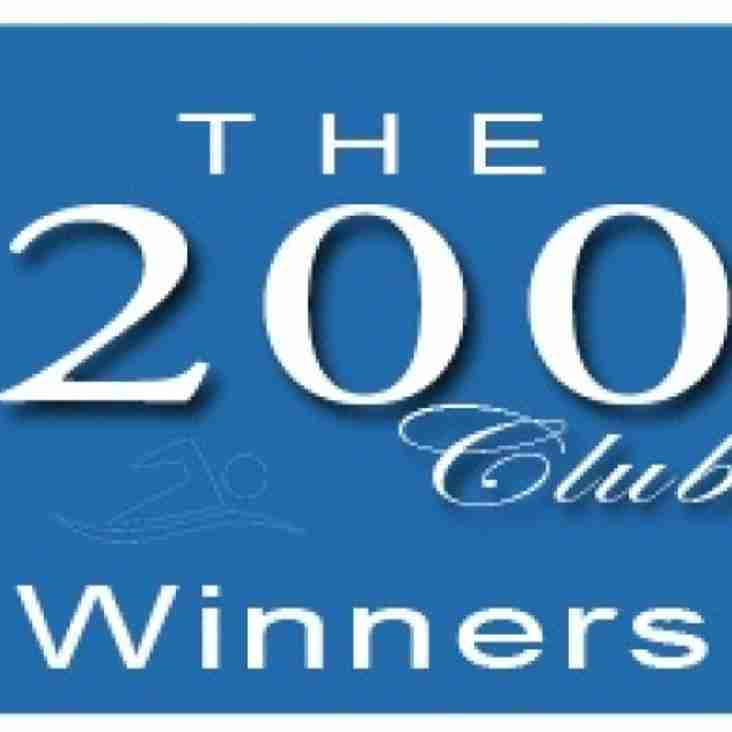 BTAFC 200 Club Winning Nos: 22.07.2017  No: 32 Linda Andre £35,  No:159 Rollove £20