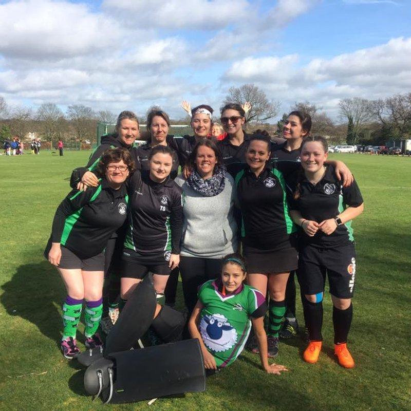 Stevenage ladies 7's Grass tournament