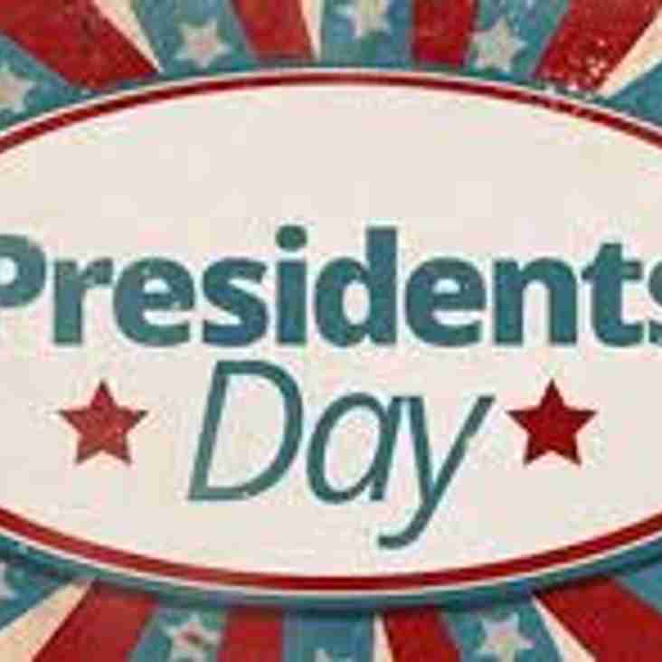 Presidents Day - 28th April 2018