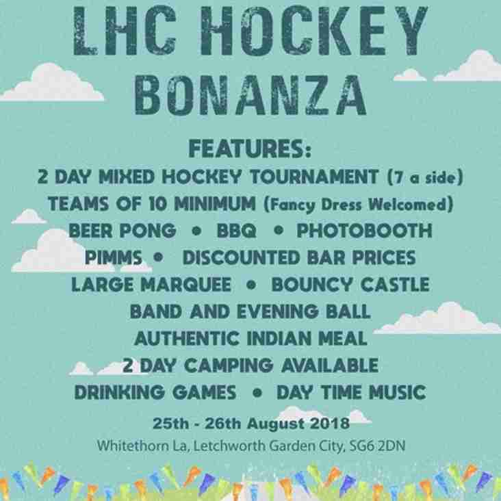 Letchworth Hockey Club bonanza