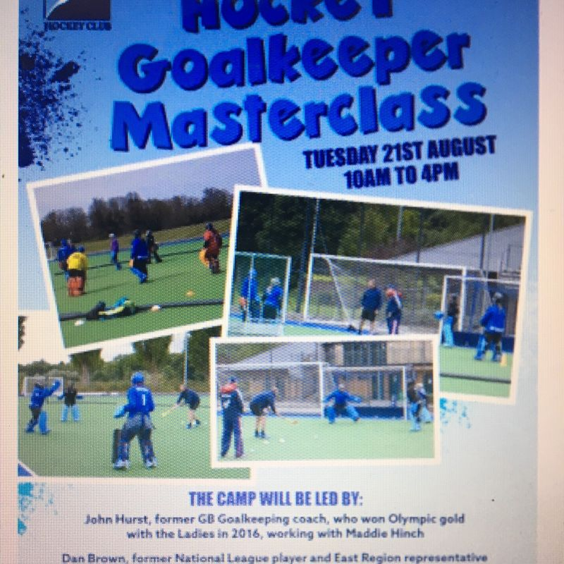 Hockey Goal Keeper Master class