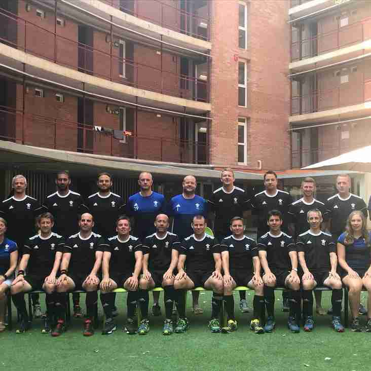 S&S players in International Hockey Masters tournament