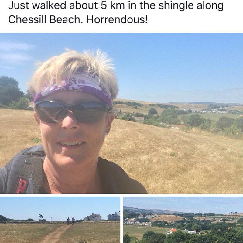 Pre season 7.5 mile walk