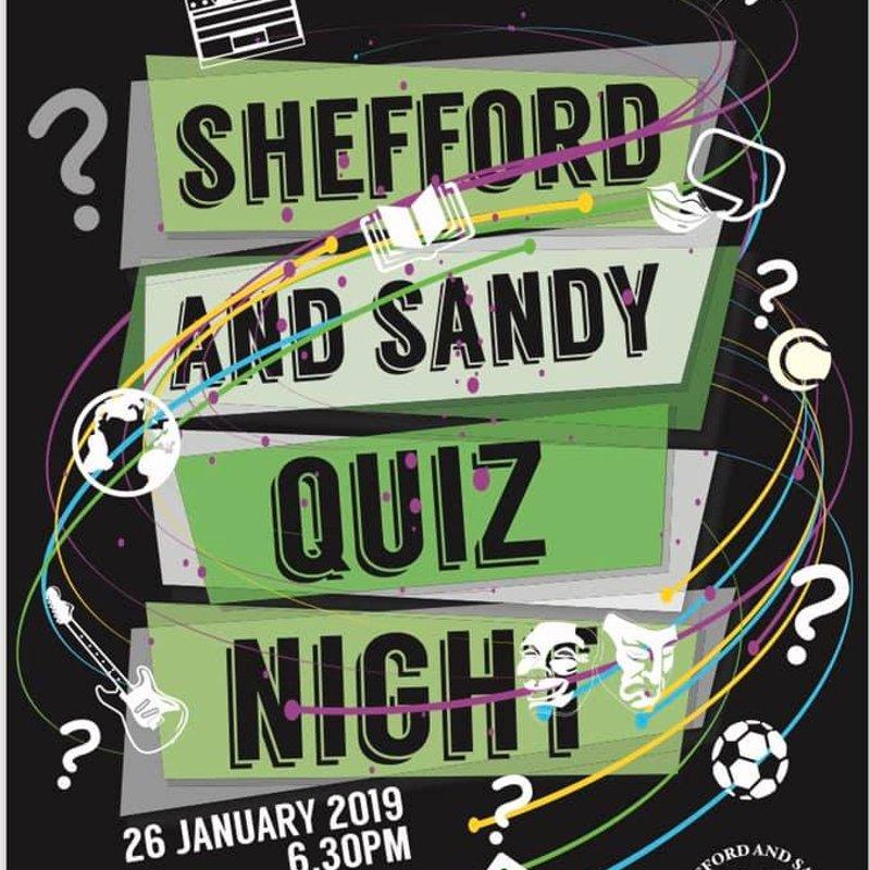 Annual Quiz night