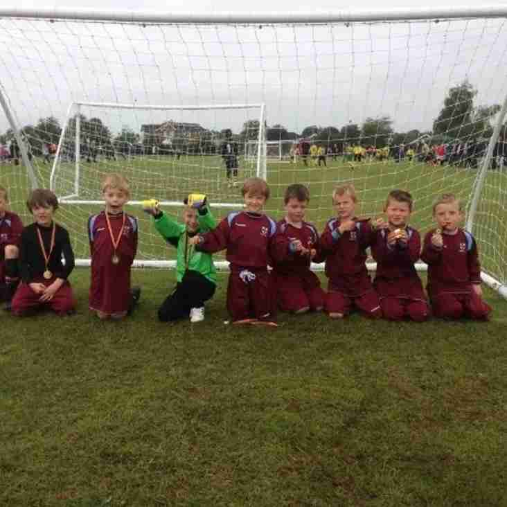 under 8s match Report