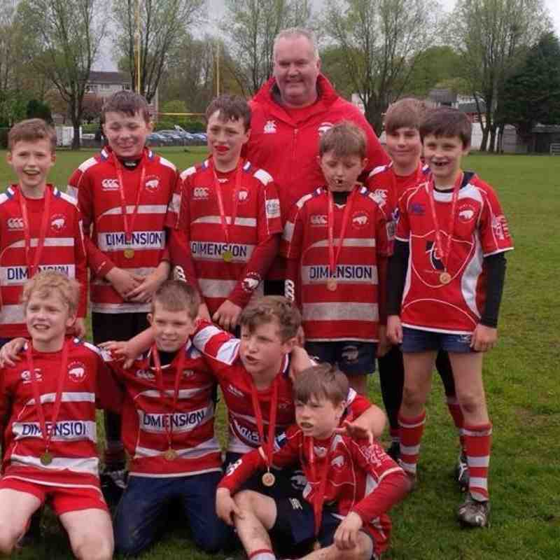 Birkmyre P6s at West May 2015