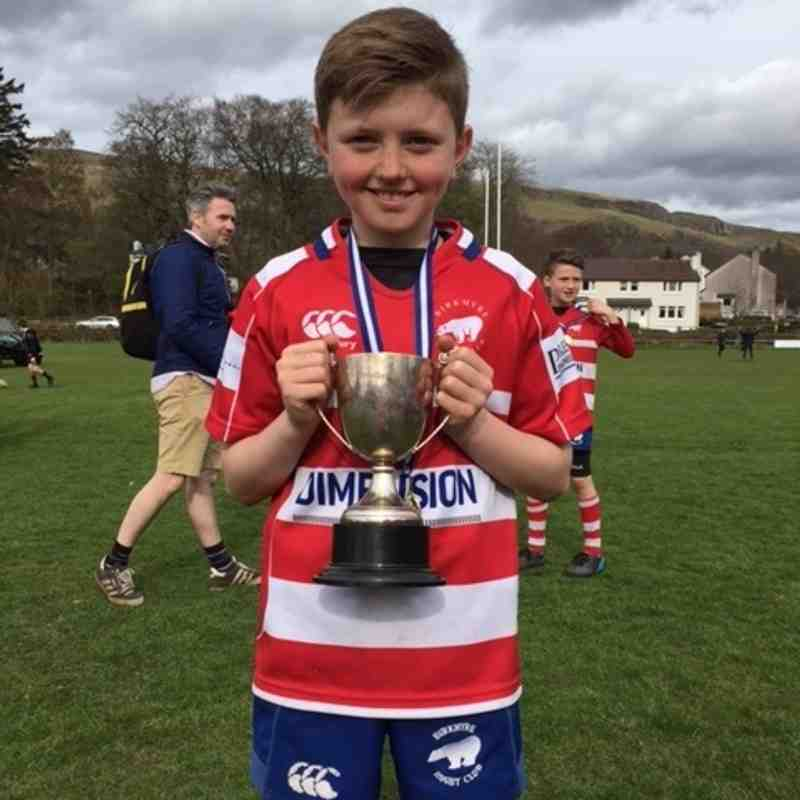 Birkmyre P7s at Strathendrick April 16