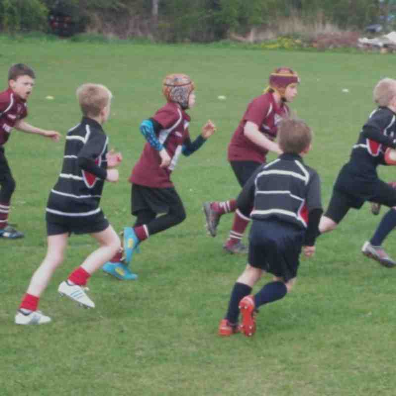 Under 9's at Darlington more photo's