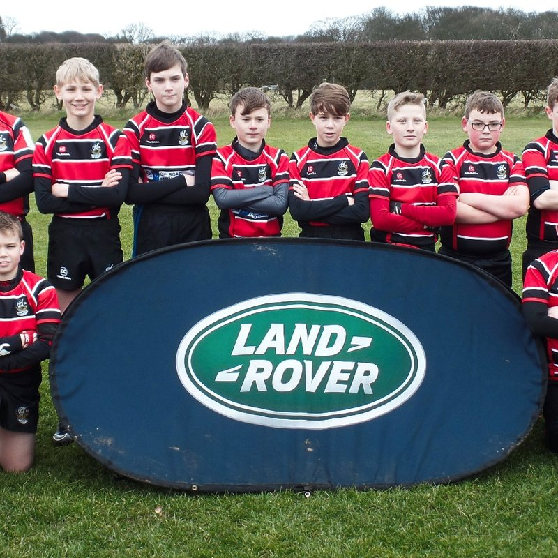 Under 13 lose to Guisborough 45 - 5