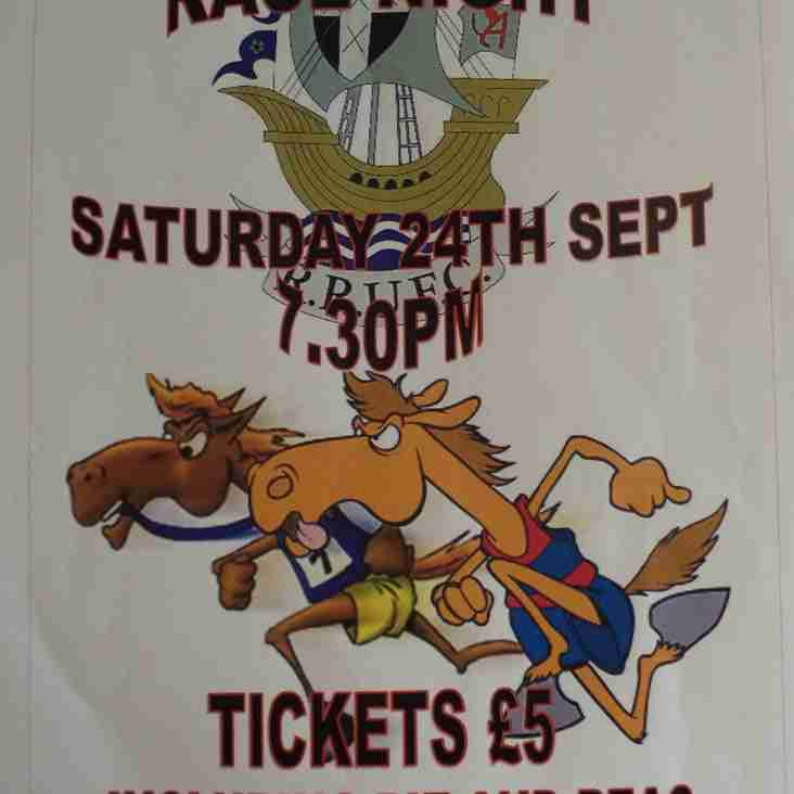 RRUFC Race Night