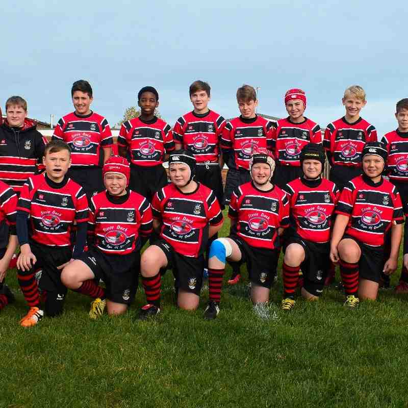U13s New Team Photo