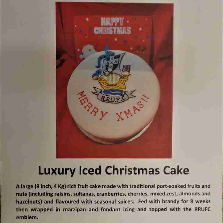 Chance to Win a RRUFC Xmas Cake