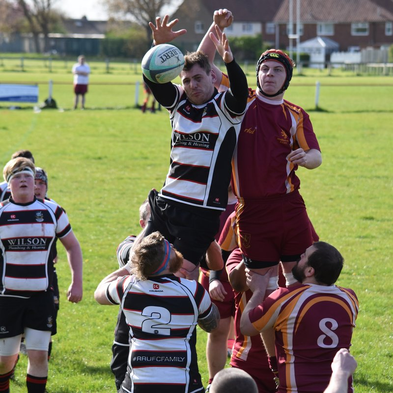 Mariners v Middlesbrough 3rds