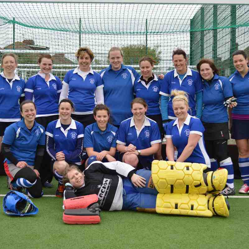 Ladies 2nd Team  - Winner's of Division 6 North 2013_14 season