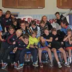 2014 Morrinsville Sports Junior Rugby Prizegiving