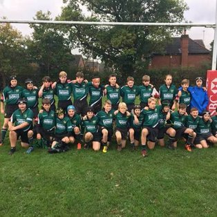 Burgess Hill v Heathfield and Waldron RFC U13's - Friendly 15/10/17