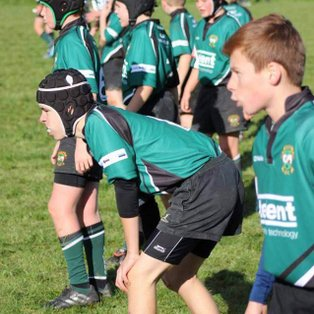 Under 13's overcome a combative Crowborough