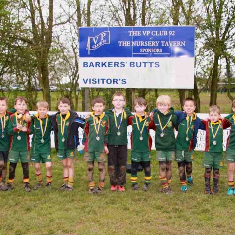 Barkers Butts under 8's 2014