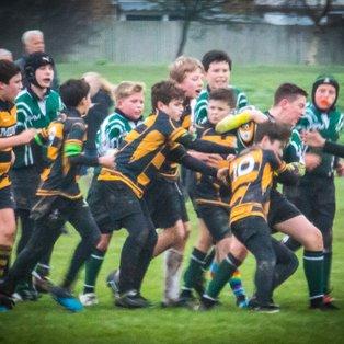 U13s victorious away v Edenbridge