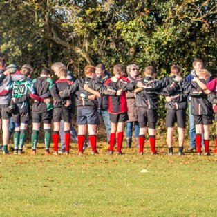 U14s Lose league game but show real pride and passion