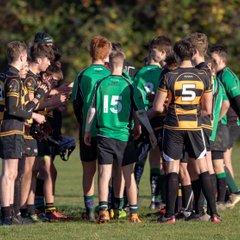 HWRFC U16s away at Edenbridge