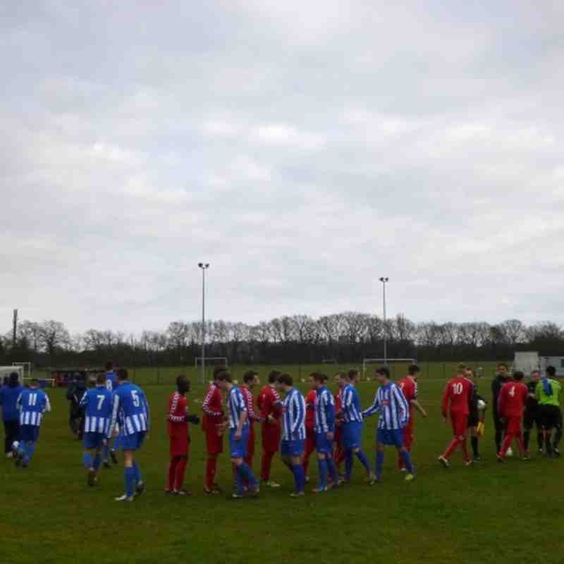 Hullbridge Sports F.C vs Stansted F.C