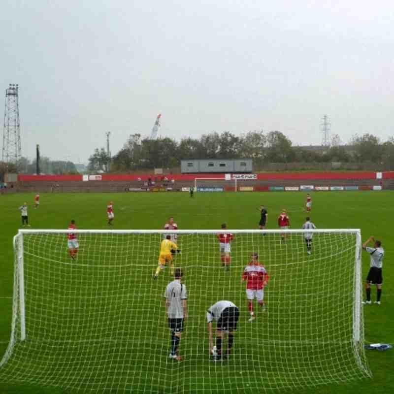 Reds vs Droylsden FA Cup 2011/12
