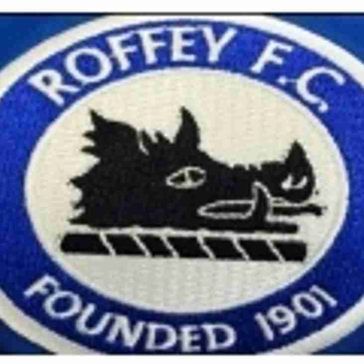 Chichester City Colts FC U18 Away to Roffey FC