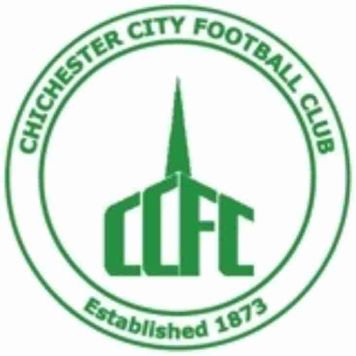 Chichester City Colts FC U18 vs Chichester City Youth 25th September