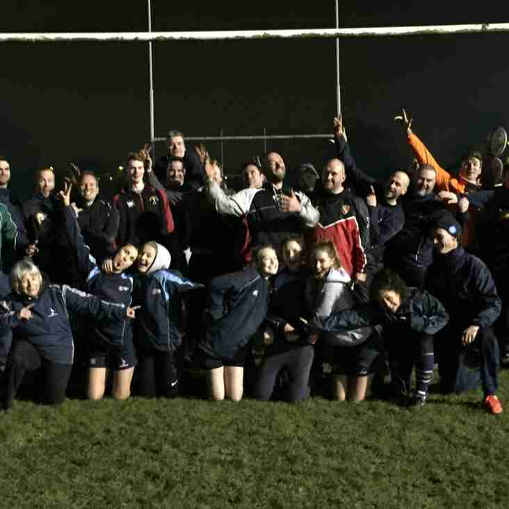 Successfull night at Kelham Road for all newly qualified Rugby Readiers!