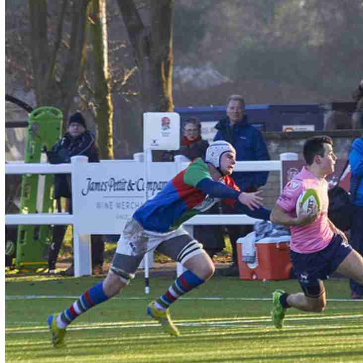 Congratulations to Newark Youngster in recent action for Irish exiles v English lambs