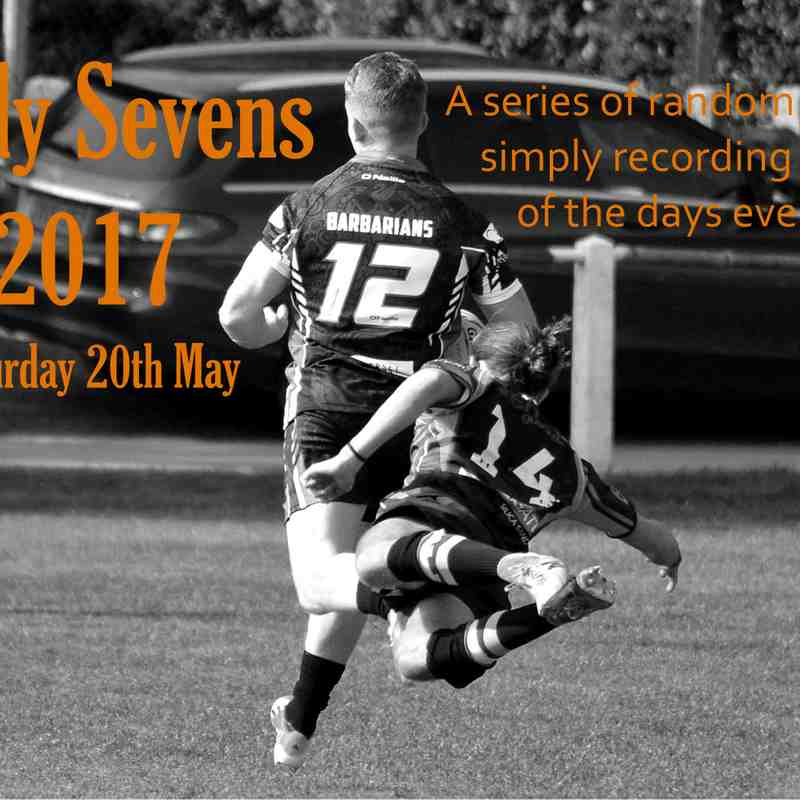 74th Caldy Sevens Competition - Saturday May 20th  2017