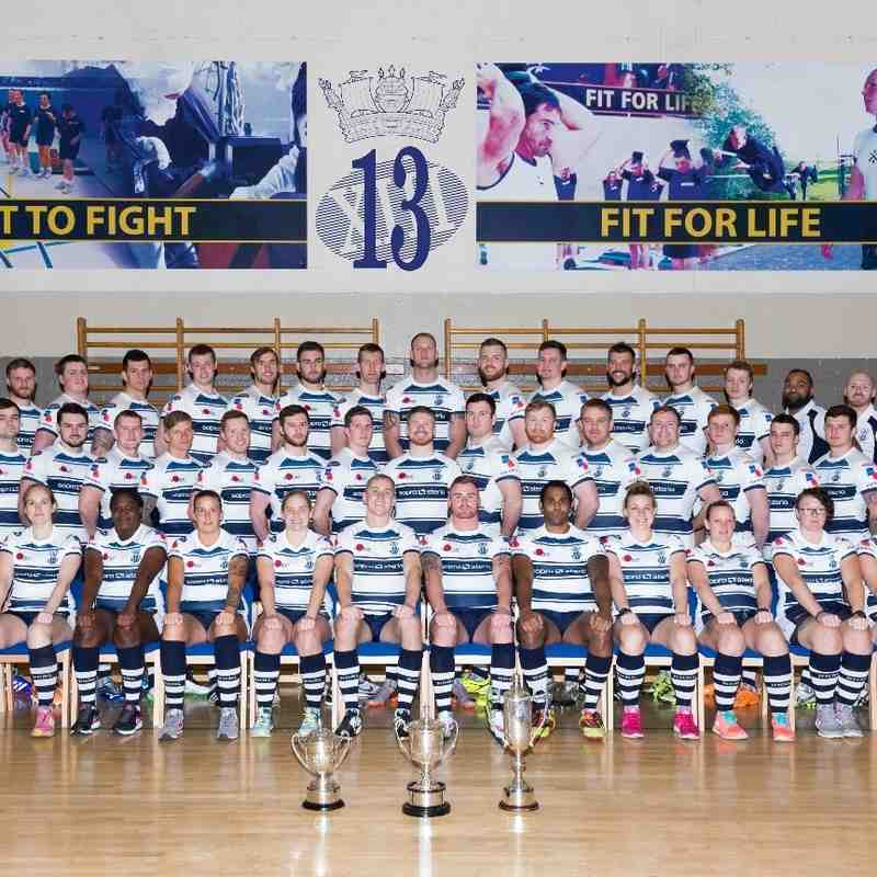 RNRL 2016 Inter Service Champions - Team Phot