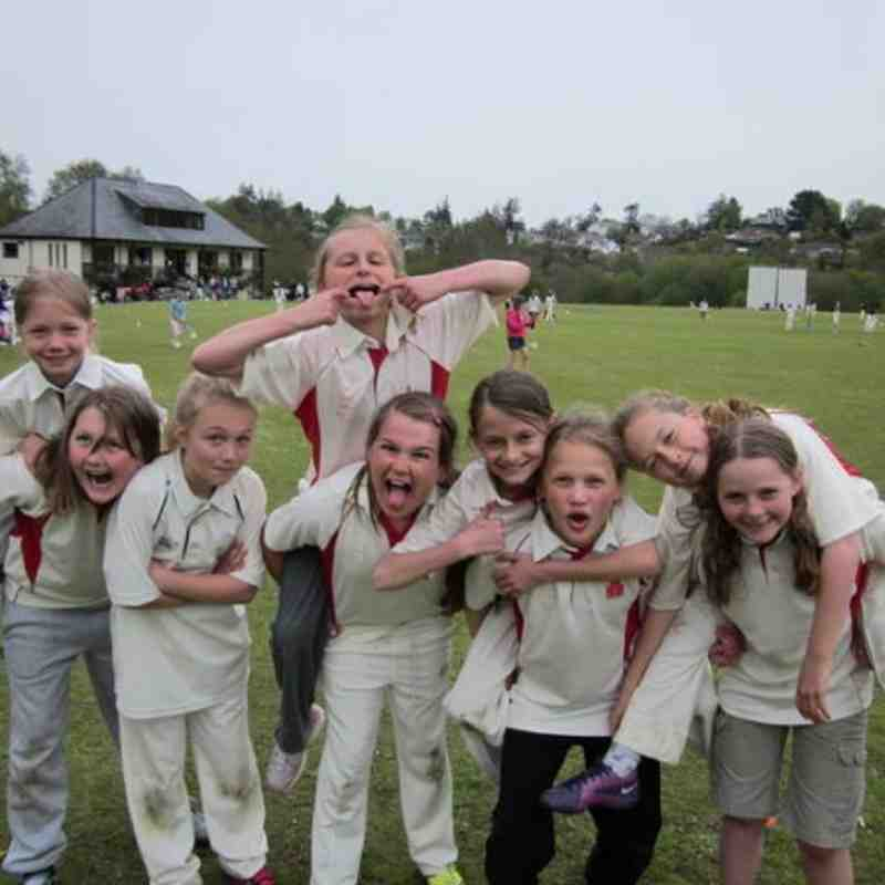 Girls U11 Team at Chagford Festival