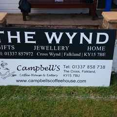 New Sponsors Announced - Campbells Coffee House & Eatery & The Wynd