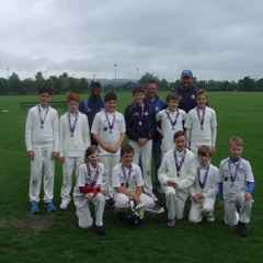 Falcons U13s Nat West Cup Runners Up