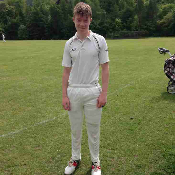 Records Tumble As Under 16s post 332 for 4