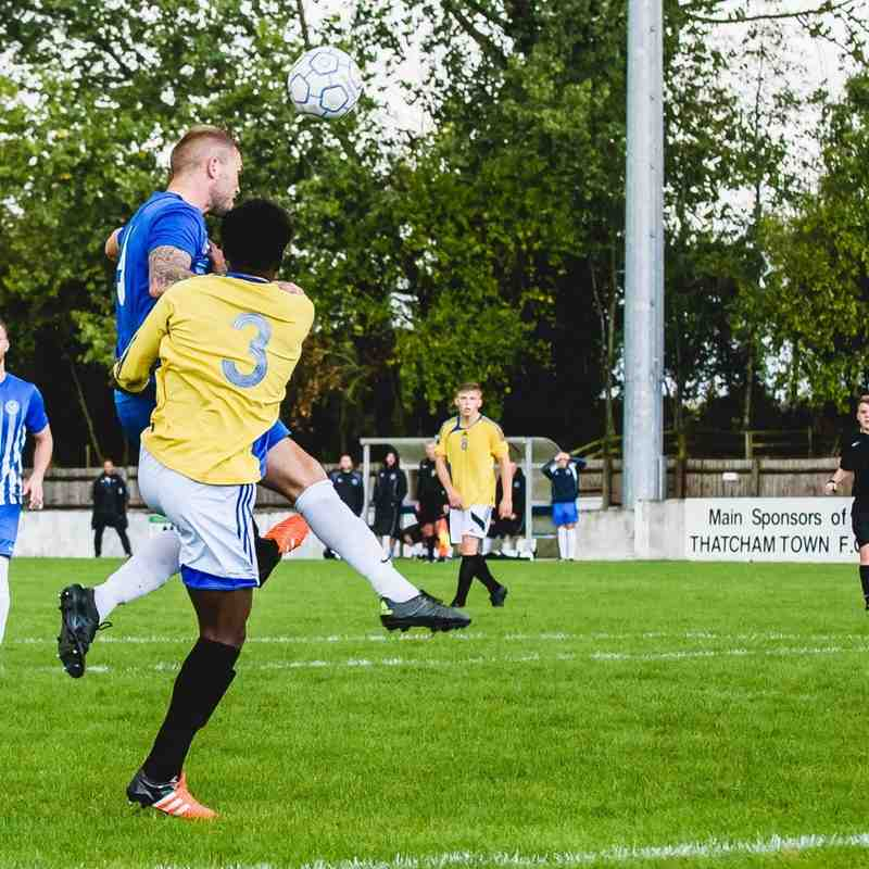 Thatcham Town 4-2 Highmoor IBIS 1/10/16 (Photos courtesy of Paul Paxford/Pitchside Photography)