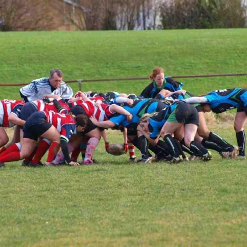 Southampton Ladies vs Guernsey Ladies - January 2012
